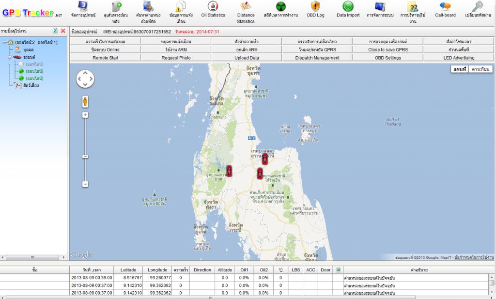 GPS Tracker Online ราคาถูก