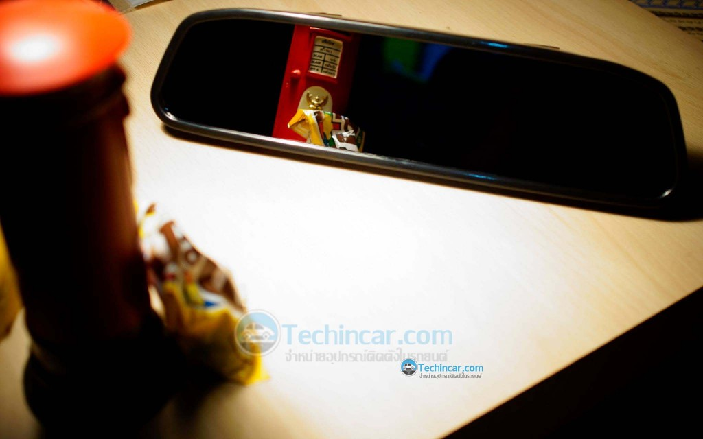 Car Rear View Mirror Monitor with Camera-techincar.com-003