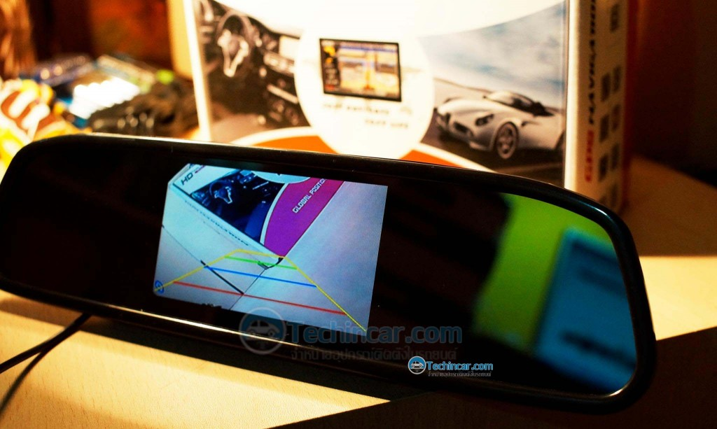 Car Rear View Mirror Monitor with Camera-techincar.com-007