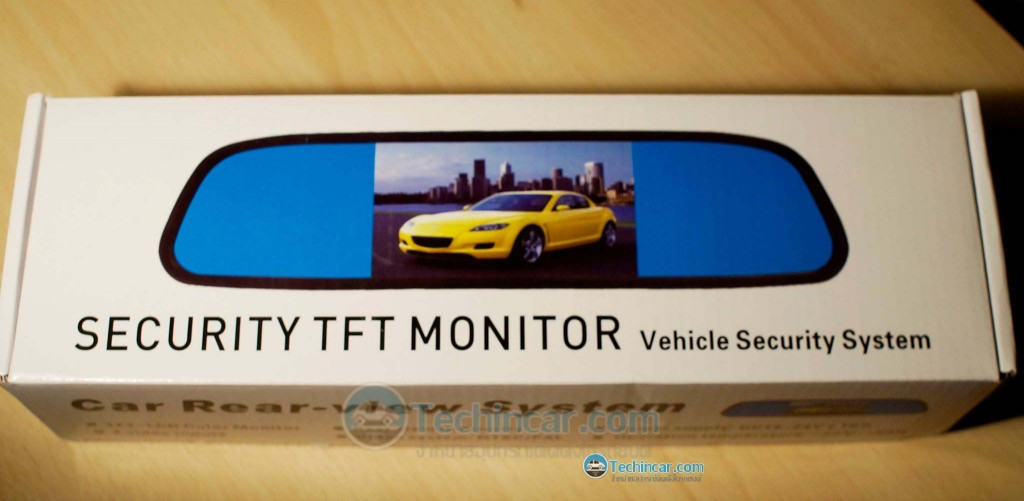 Car Rear View Mirror Monitor with Camera-techincar.com-009