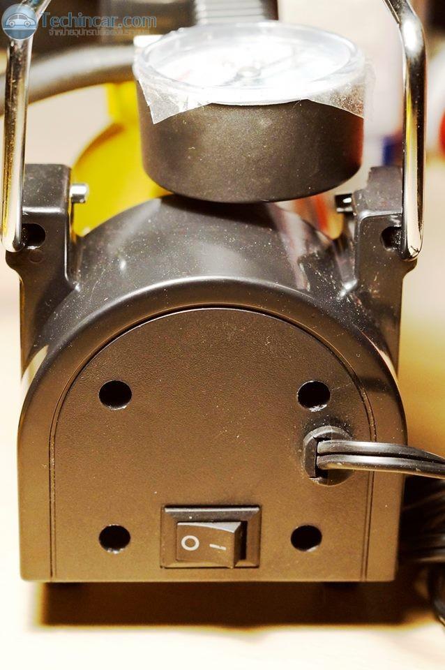 ปั้มลม12V ติดรถยนต์ Airpump for car by techincar5