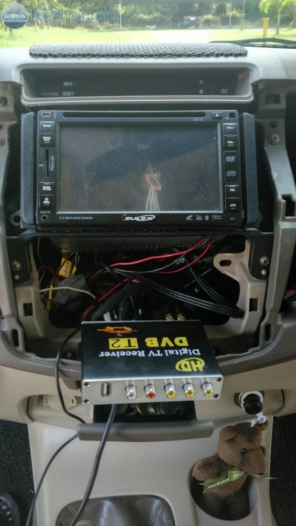 ทีวีดิจิตอลติดรถยนต์