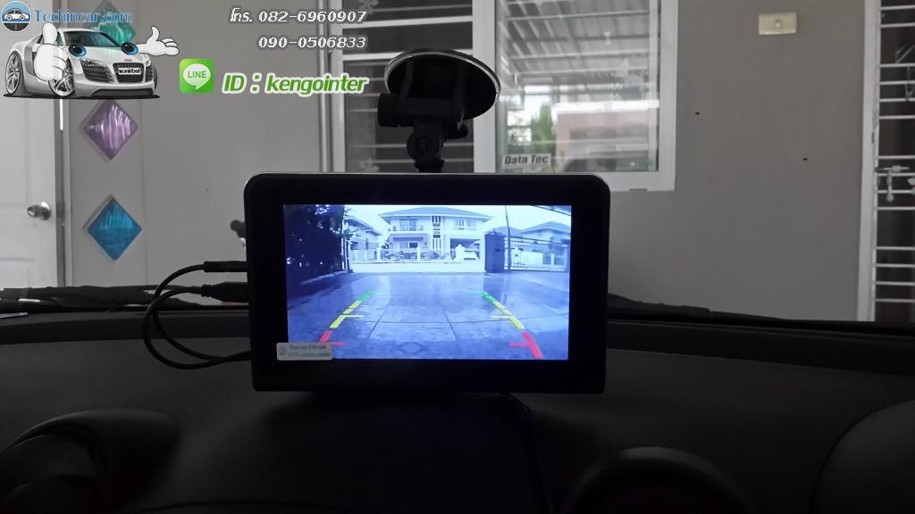 กล้องมองหลังไร้สาย ใช้กับGPS
