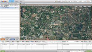ดูในมุมมอง แผนที่ดาวเทียม GPSติดตามรถ