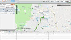 ดูเส้นทางย้อนหลัง GPSติดตามรถ