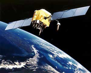 GPS Block satellite