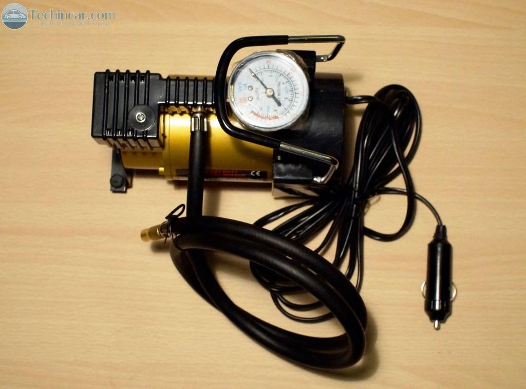 ปั้มลม12V ติดรถยนต์ Airpump for car by techincar