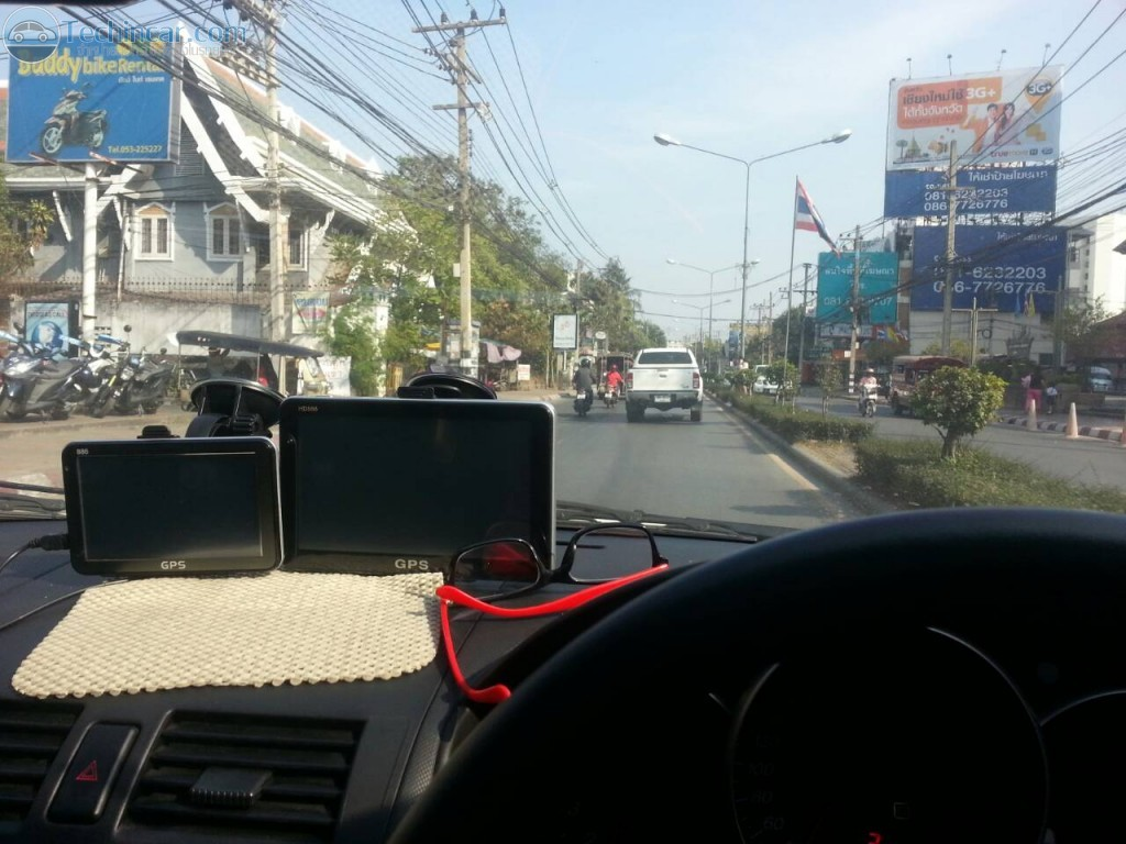 GPS Navigator จีพีเอส นำทาง ติดรถยนต์ รุ่น HD886 เมนู รุ่นใหม่ 8