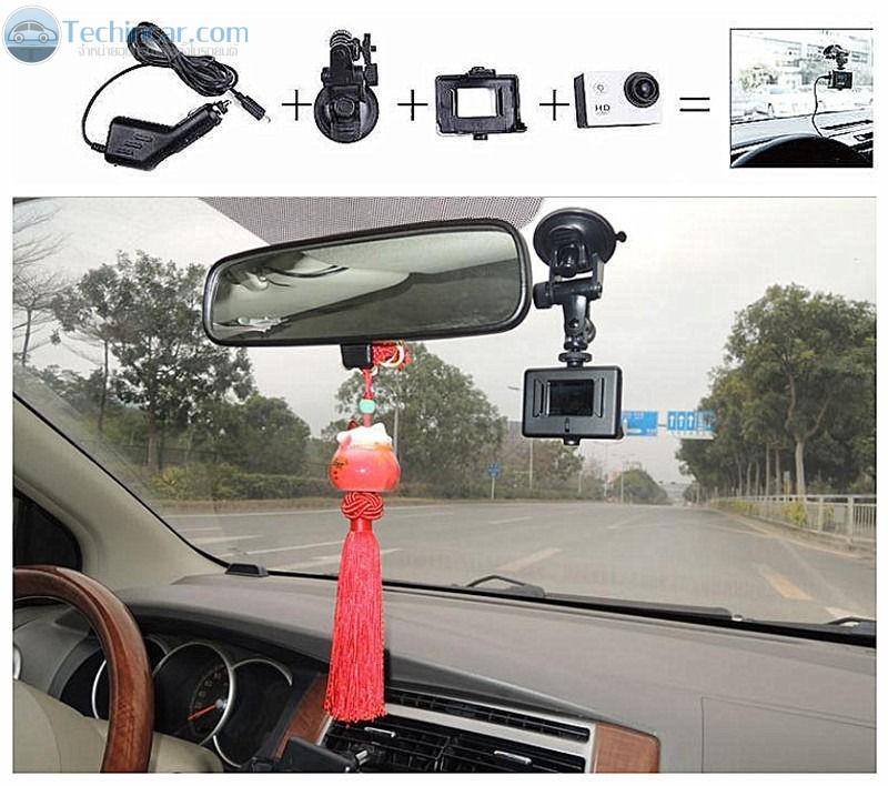 กล้องติดรถยนต์ SJ4000+Wifi