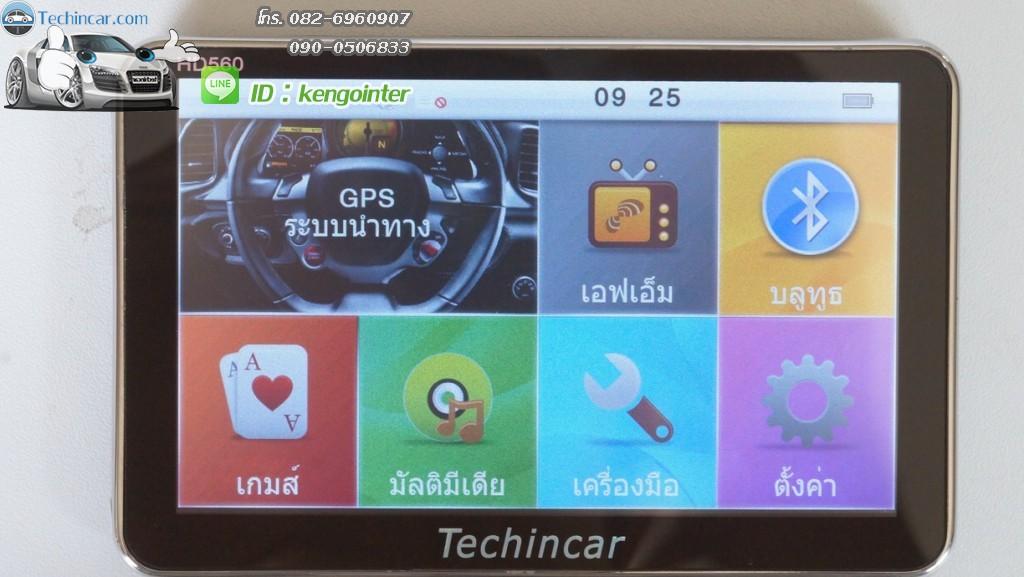 GPS นำทาง แผนที่ประเทศไทย Thailand รุ่น HD560