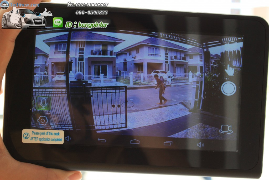 GPS Navi Android + DVR cam + AV + Rear view camera 2015-2016 by techincar