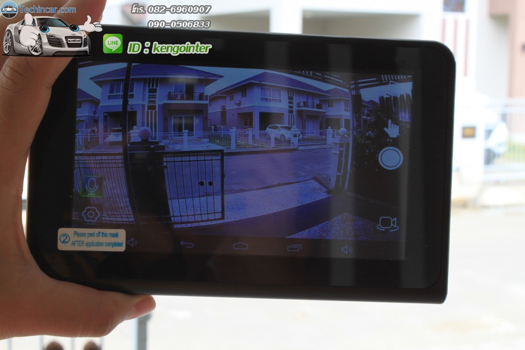 GPS Navi Android + DVR cam + AV + Rear view camera