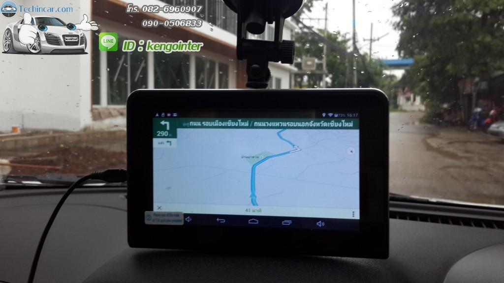 GPSนำทาง แอนดรอย มีกล้องหน้า