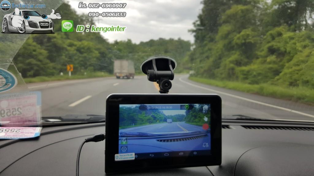 GPS กล้องหน้า เรดาห์ GT999
