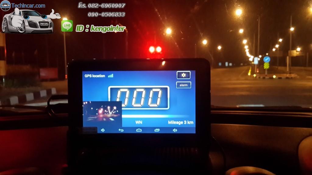 GPSนำทางกล้องมองหลังไร้สาย GT999