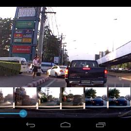 GPSAndroid GT999 นำทาง กล้องหน้า เรดาห์ กล้องหลัง