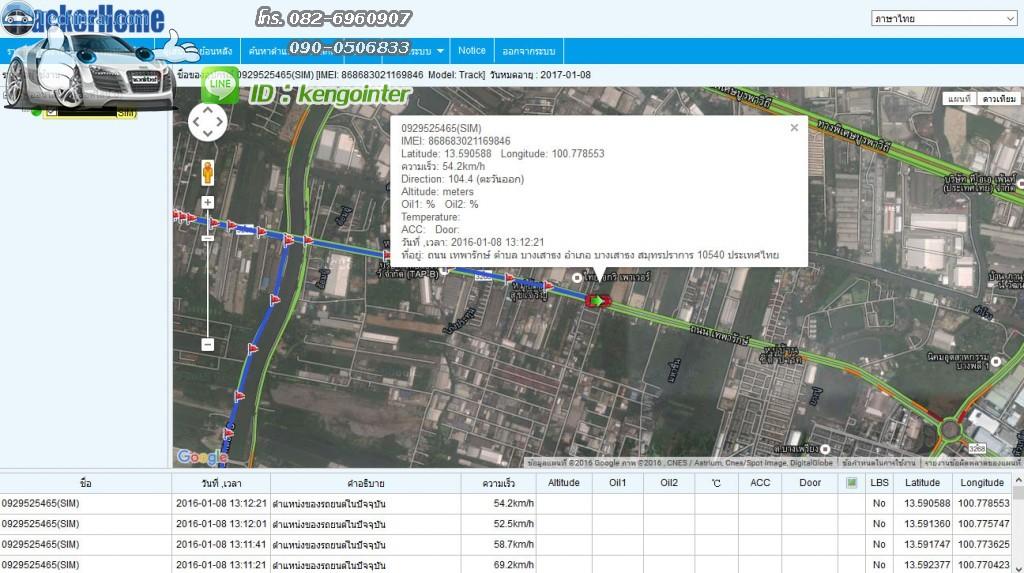 GPSTracker online server ราคาถูก