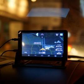 GPS M515 MX18 นำทาง พร้อมกล้องติดรถยนต์