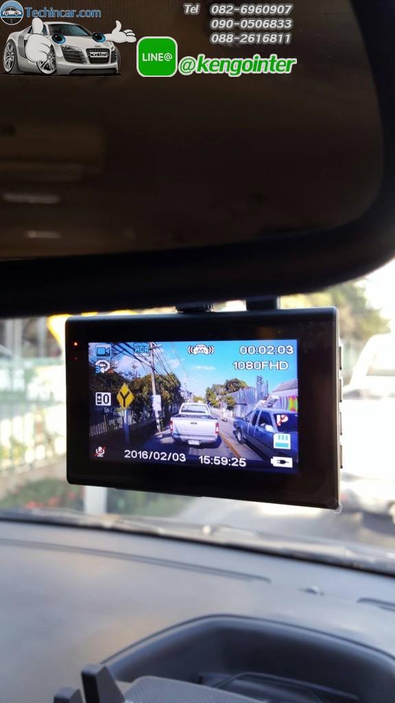 กล้องติดรถยนต์ แบบชัดๆ Anytek X6 ของแท้ ราคาถูก