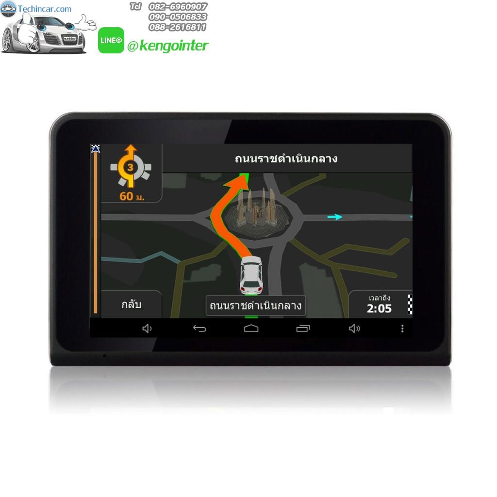 GPSนำทางติดรถยนต์ มีกล้องบันทึก GT888 Techincar.com