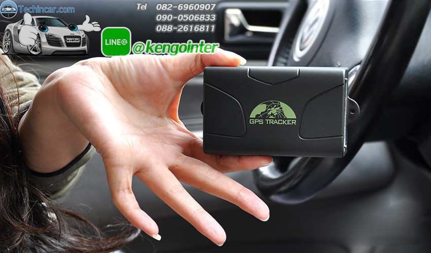 GPSติดตามรถ TK104 GPSTracker Online by Techincar.com