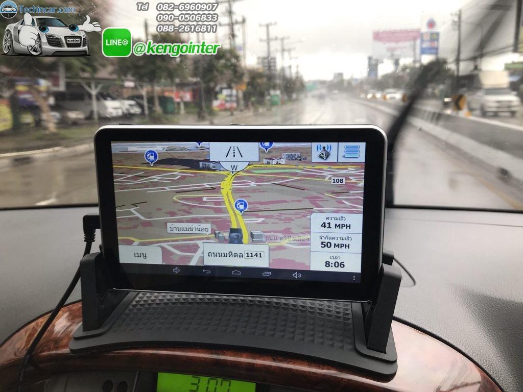 GPSนำทาง มีกล้องติดรถยนต์ หน้า หลัง