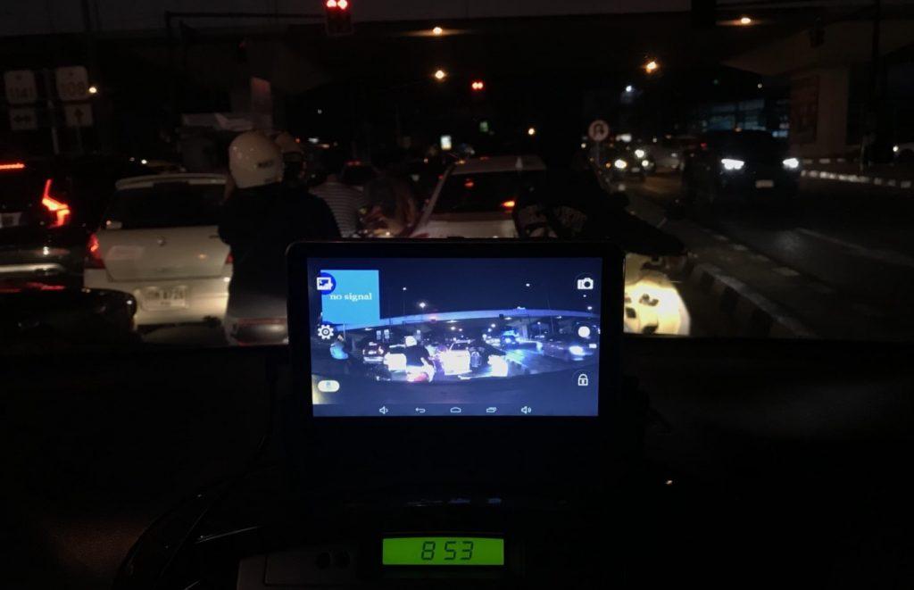 GPS M515 S มีกล้องบันทึกด้านหน้า + หลัง ขนาดจอ 7.0 นิ้ว นำทาง Andorid in car wifi AV-IN Bluetooth