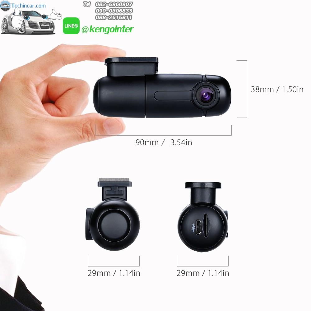หัวชาร์ทกล้อง B1W แบบ MicroUSB