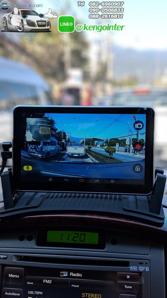 M515 S 16GB GPSนำทาง กล้องติดรถยนต์ หน้าหลัง ดูทีวี และ Youtube ได้ มี Wifi ROM 16 GB AV-IN Bluetooth